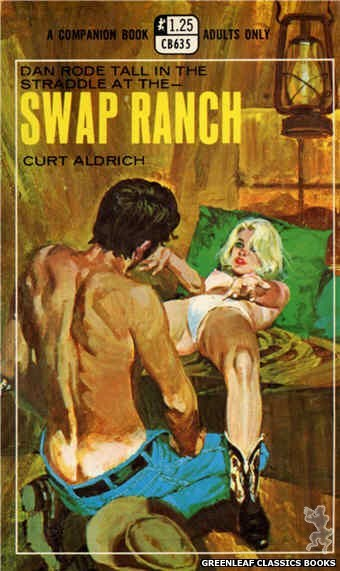 Companion Books CB635 - Swap Ranch by Curt Aldrich, cover art by Darrel Millsap (1969)
