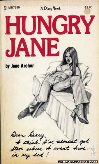 Midnight Reader 1974 MR7585 - Hungry Jane by Jane Archer, cover art by Unknown (1975)