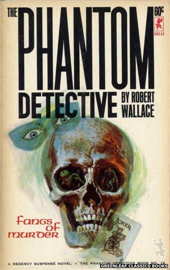 Corinth Regency CR112 - Fangs of Murder by Robert Wallace, cover art by Robert Bonfils (1965)