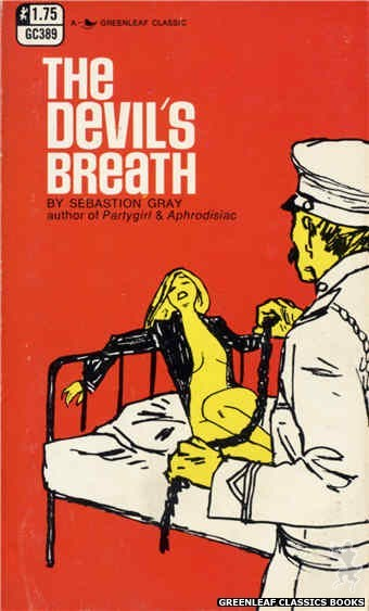 Greenleaf Classics GC389 - The Devil's Breath by Sebastion Gray, cover art by Unknown (1969)