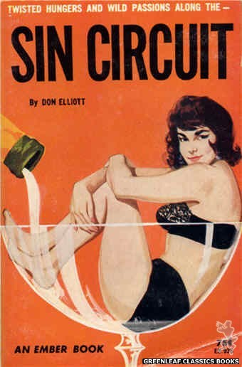 Ember Books EB936 - Sin Circuit by Don Elliott, cover art by Unknown (1964)