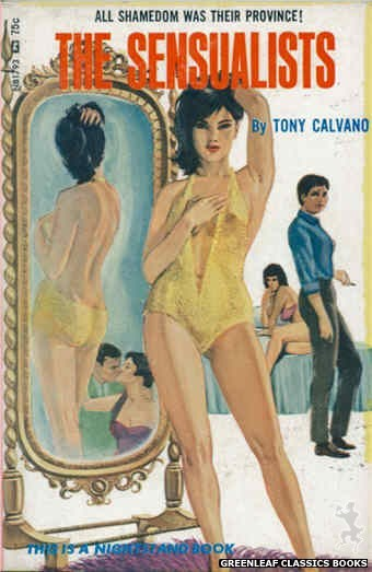 Nightstand Books NB1793 - The Sensualists by Tony Calvano, cover art by Unknown (1966)