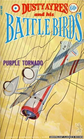 Corinth Regency CR141 - Purple Tornado by Robert Sidney Bowen, cover art by Unknown (1966)