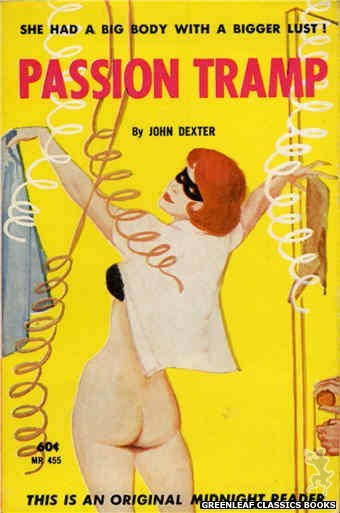 Midnight Reader 1961 MR455 - Passion Tramp by John Dexter, cover art by Unknown (1962)