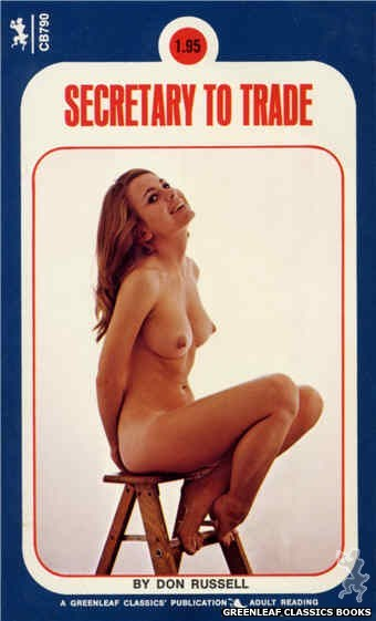 Companion Books CB790 - Secretary To Trade by Don Russell, cover art by Photo Cover (1973)