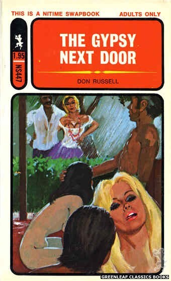 Nitime Swapbooks NS447 - The Gypsy Next Door by Don Russell, cover art by Unknown (1971)