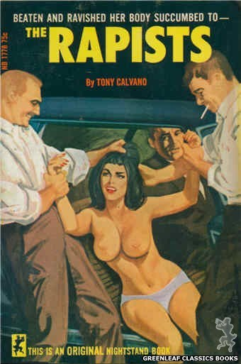 Nightstand Books NB1778 - The Rapists by Tony Calvano, cover art by Unknown (1966)