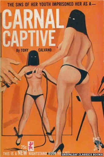 Nightstand Books NB1767 - Carnal Captive by Tony Calvano, cover art by Unknown (1965)