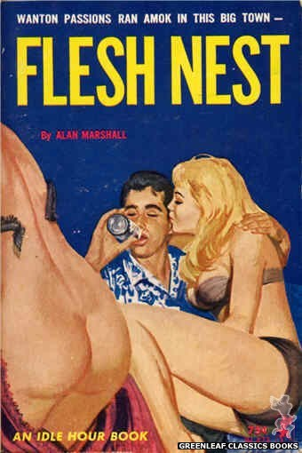 Idle Hour IH423 - Flesh Nest by Alan Marshall, cover art by Unknown (1964)