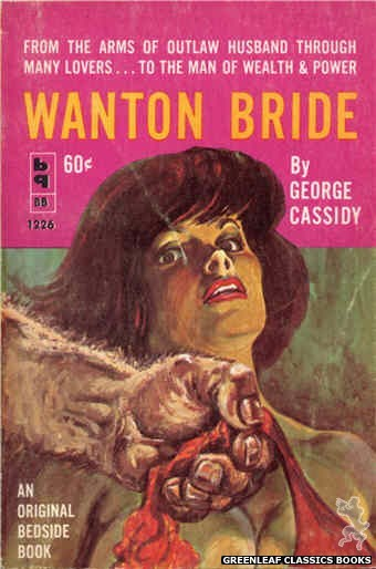 Bedside Books BB 1226 - Wanton Bride by George Cassidy, cover art by Unknown (1962)