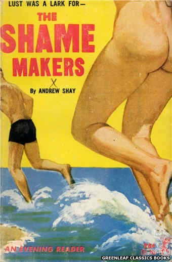Evening Reader ER760 - The Shame Makers by Andrew Shay, cover art by Unknown (1964)