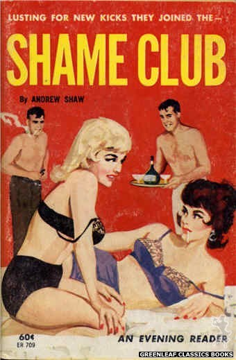 Evening Reader ER709 - Shame Club by Andrew Shaw, cover art by Unknown (1963)