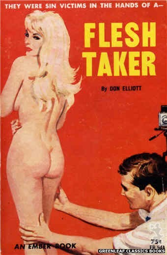 Ember Books EB944 - Flesh Taker by Don Elliott, cover art by Unknown (1964)