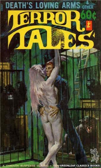 Corinth Regency CR147 - Death's Loving Arms & Other Terror Tales by Jon Hanlon (Editor), cover art by Robert Bonfils (1966)