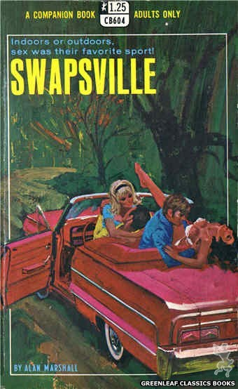 Companion Books CB604 - Swapsville by Alan Marshall, cover art by Robert Bonfils (1969)