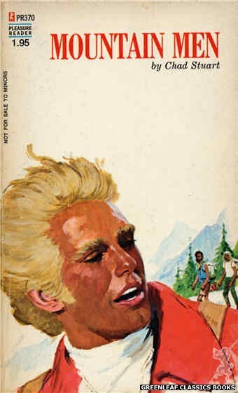 Pleasure Reader PR370 - Mountain Men by Chad Stuart, cover art by Robert Bonfils (1972)