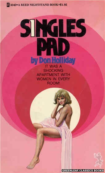 Reed Nightstand 3040 - Singles Pad by Don Holliday, cover art by Ed Smith (1973)