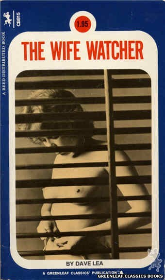 Companion Books CB815 - The Wife Watcher by Dave Lea, cover art by Photo Cover (1973)