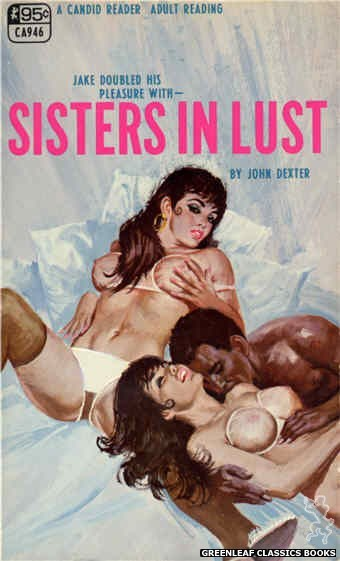 Candid Reader CA946 - Sisters In Lust by John Dexter, cover art by Robert Bonfils (1968)