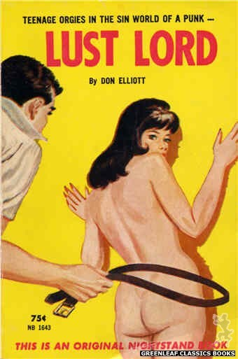 Nightstand Books NB1643 - Lust Lord by Don Elliott, cover art by Unknown (1963)