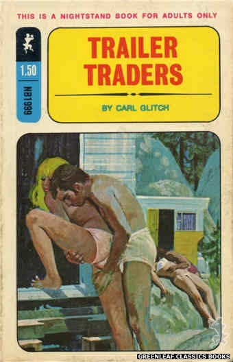 Nightstand Books NB1999 - Trailer Traders by Carl Glitch, cover art by Robert Bonfils (1970)