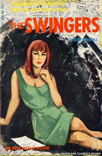 Idle Hour IH503 - The Swingers by Alan Marshall, cover art by Unknown (1966)