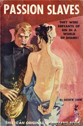 Nightstand Books NB1712 - Passion Slaves by Andrew Shaw, cover art by Harold W. McCauley (1964)
