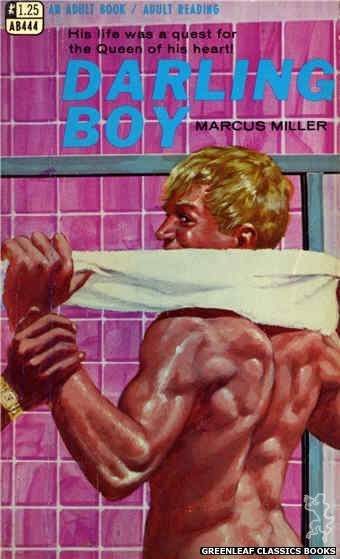 Adult Books AB444 - Darling Boy by Marcus Miller, cover art by Darrel Millsap (1968)