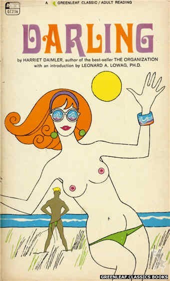 Greenleaf Classics GC236 - Darling by Harriet Daimler, cover art by Unknown (1967)