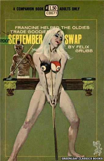 Companion Books CB671 - September Swap by Felix Grubb, cover art by Robert Bonfils (1970)