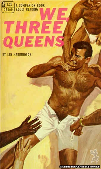 Companion Books CB560 - We, Three Queens by Len Harrington, cover art by Robert Bonfils (1968)