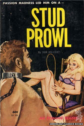 Evening Reader ER701 - Stud Prowl by Don Holliday, cover art by Robert Bonfils (1963)