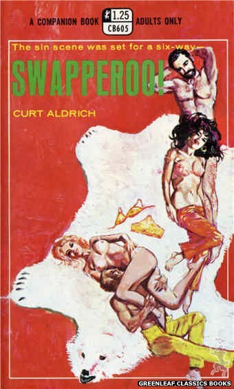 Companion Books CB605 - Swapperoo! by Curt Aldrich, cover art by Unknown (1969)