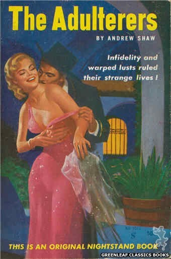 Nightstand Books NB1511 - The Adulterers by Andrew Shaw, cover art by Harold W. McCauley (1960)