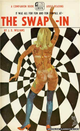 Companion Books CB570 - The Swap-In by J.X. Williams, cover art by Robert Bonfils (1968)