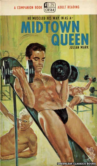 Companion Books CB564 - Midtown Queen by Julian Mark, cover art by Darrel Millsap (1968)