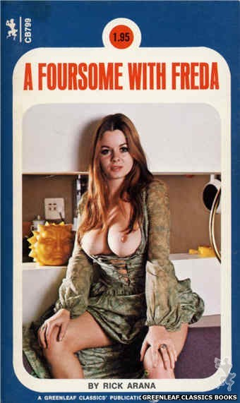 Companion Books CB799 - A Foursome With Freda by Ric Arana, cover art by Photo Cover (1973)