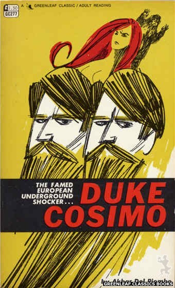 Greenleaf Classics GC277 - Duke Cosimo by Akbar Del Piombo, cover art by Unknown (1968)