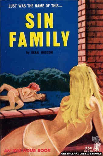 Idle Hour IH430 - Sin Family by Dean Hudson, cover art by Unknown (1965)