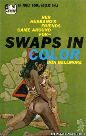 Adult Books AB1546 - Swaps in Color by Don Bellmore, cover art by Unknown (1970)
