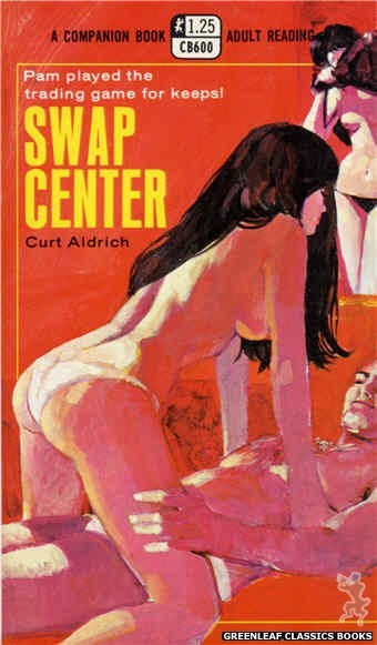 Companion Books CB600 - Swap Center by Curt Aldrich, cover art by Darrel Millsap (1969)