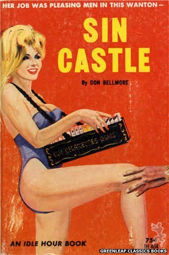 Idle Hour IH404 - Sin Castle by Don Bellmore, cover art by Unknown (1964)