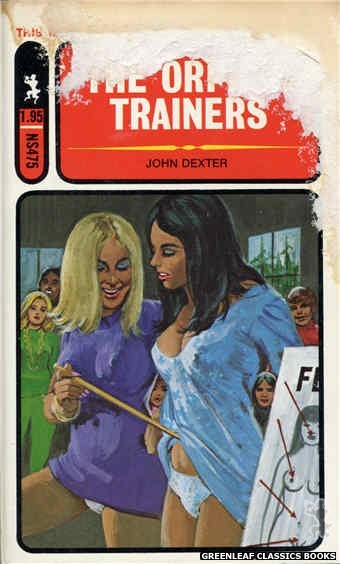 Nitime Swapbooks NS475 - The Orphan Trainers by John Dexter, cover art by Unknown (1972)
