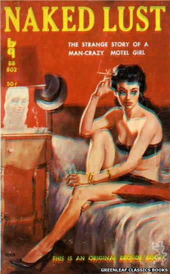 Bedside Books BB 802 - Naked Lust by Shep Shepard, cover art by Duillo (1959)