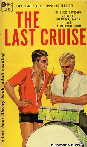 Late-Hour Library LL735 - The Last Cruise by Chris Davidson, cover art by Darrel Millsap (1967)