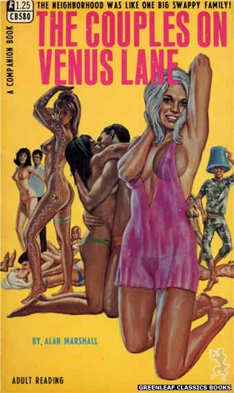 Companion Books CB580 - The Couples On Venus Lane by Alan Marshall, cover art by Ed Smith (1968)