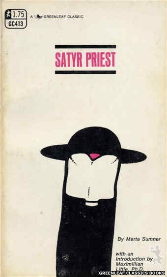 Greenleaf Classics GC413 - Satyr Priest by Marta Sumner, cover art by Unknown (1969)
