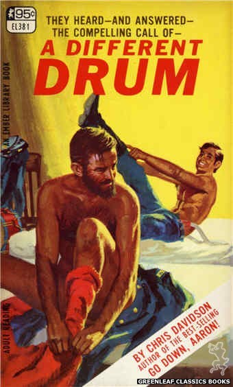 Ember Library EL 381 - A Different Drum by Chris Davidson, cover art by Robert Bonfils (1967)