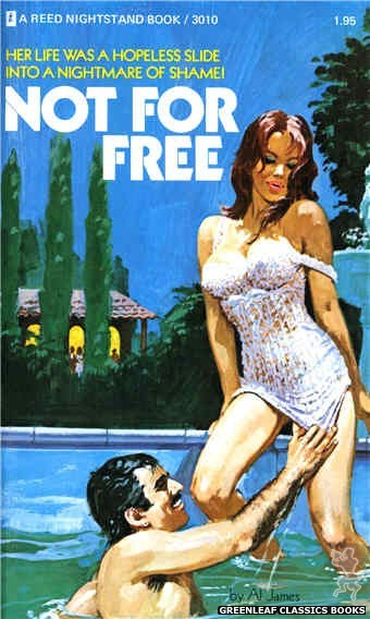 Reed Nightstand 3010 - Not For Free by Al James, cover art by Unknown (1973)