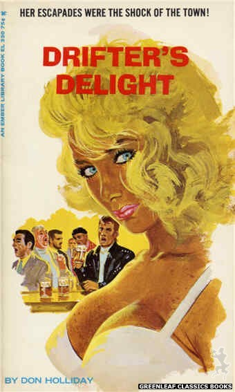 Ember Library EL 330 - Drifter's Delight by Don Holliday, cover art by Robert Bonfils (1966)